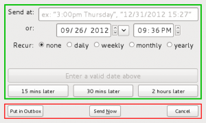 Jak wysyłać wiadomości e-mail z opóźnieniem?
