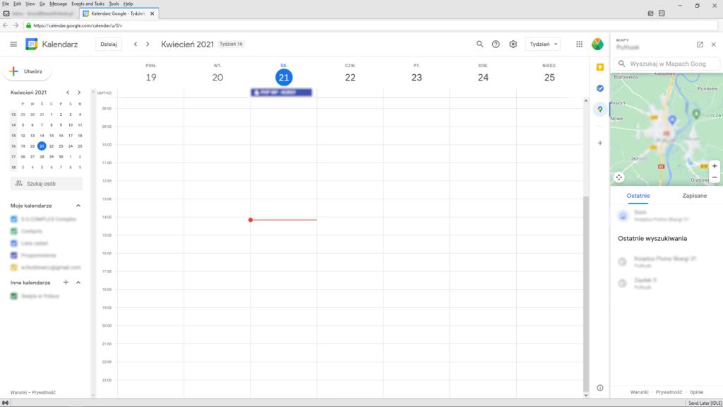 gmail - google calendar in thunderbird v2