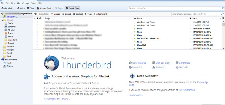 Darmowa alternatywa dla programu Outlook? Tak! Mozilla Thunderbird